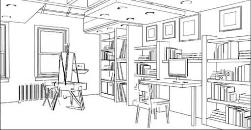 2D Interior Design