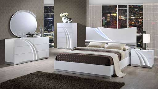 master bedroom designer bed white
