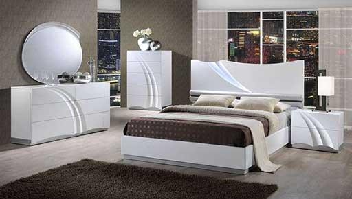 master bedroom designer bed white