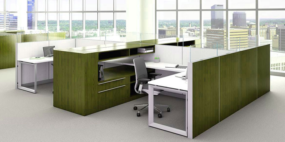 Purchasing modular office furniture where do you begin interior wizards - Modular home office furniture systems ...