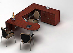 Global Office Furniture Desk