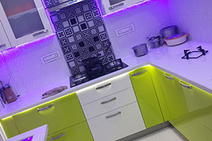 Laminate Modular Kitchen Design