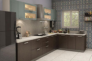 Membrane Modular Kitchen Design