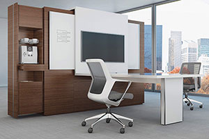 Wooden Office Furniture Design