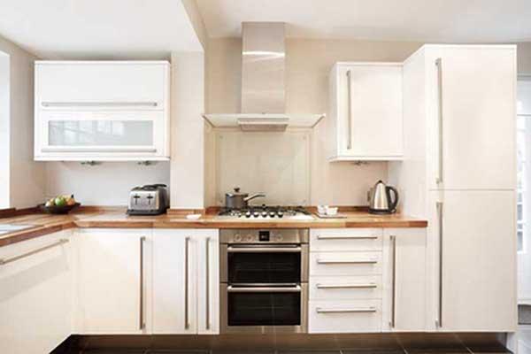 L Shape Modular Kitchen Design in Delhi