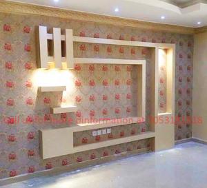 TV Unit - Wall Panel Design