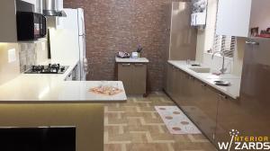 Modular Kitchen Design Sec 4 Gurgaon